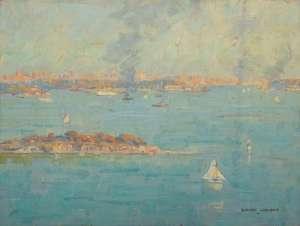 Shark Island, Sydney Harbour by ROBERT CAMPBELL