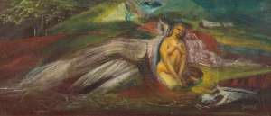 Seated Native Woman by WILLIAM DOBELL