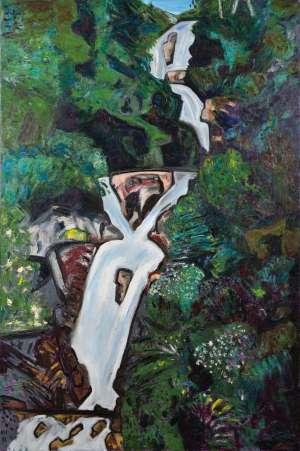 Steavenson Falls by JEFFREY MAKIN