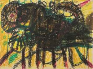 Cat by JOHN OLSEN