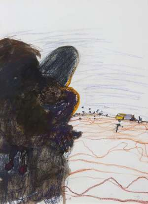 Mother and Child, Jigalong by JOHN OLSEN