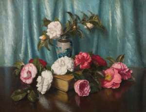 Camellias by ALBERT SHERMAN