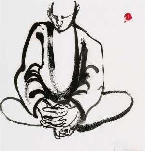 Monk by BRETT WHITELEY