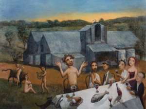 Bacchus at Mount Pleasant by GARRY SHEAD