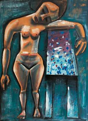 Barbara at Avonsleigh by CHARLES BLACKMAN