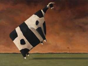 Blowin in the Wind (II) by JOHN KELLY