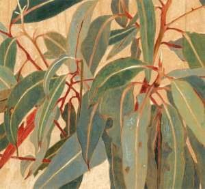 Gum Leaves, detail by CRESSIDA CAMPBELL