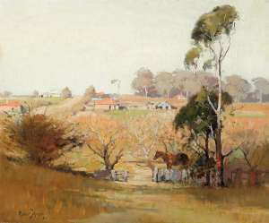 Eastwood Farmscape by ROBERT JOHNSON