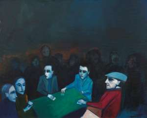 The Card Players by ROBERT DICKERSON