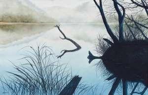 Misty Blue by LIN ONUS