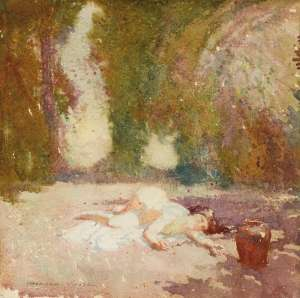 Summer by NORMAN LINDSAY