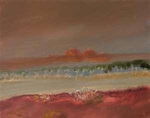 Landscape by SIDNEY NOLAN