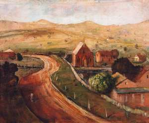 Landscape at Gunning by LLOYD REES