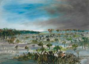 Swamp by SIDNEY NOLAN