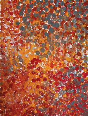 Untitled (Wildflower Dreaming) by EMILY KAME KNGWARREYE