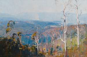 The Valley by ARTHUR STREETON