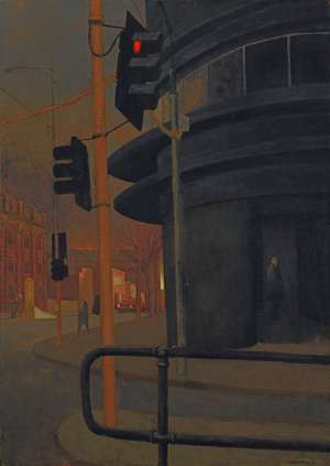 Tramstop by RICK AMOR