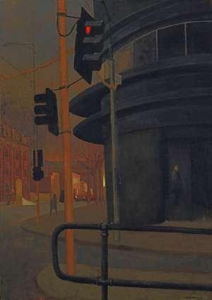 Tramstop by RICK AMOR