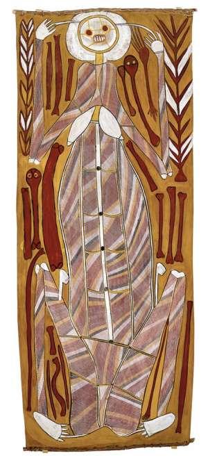 Narmarden (Female Lightening Spirit) by JOHN MAWURNDJUL