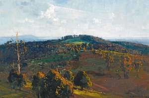 The Bay from Olinda Top by ARTHUR STREETON