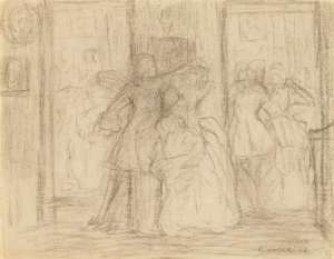 At the Ball by CHARLES CONDER