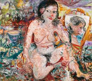 Kathy in the Studio by JOHN PERCEVAL