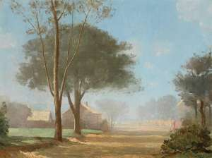 Autumn Mist, Parramatta by LLOYD REES