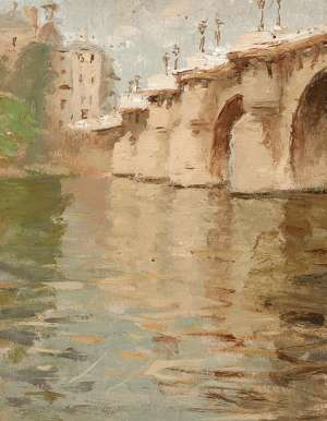 Pont Neuf, Paris by BESSIE GIBSON
