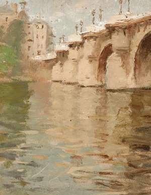 Pont Neuf, Paris by BESSIE GIBSON
