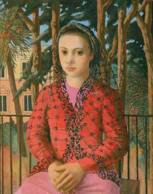 Young Girl in a Mantilla by JUSTIN O'BRIEN
