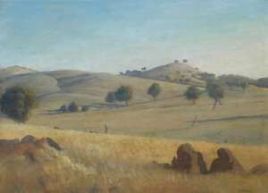 Yass Landscape by ELIOTH GRUNER
