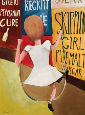 Skipping Girl by CHARLES BLACKMAN
