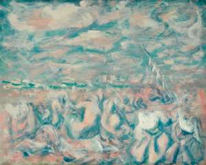 Bondi Beach by WILLIAM DOBELL