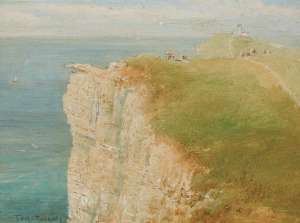 Untitled (Bruny Island Lighthouse) by TOM ROBERTS