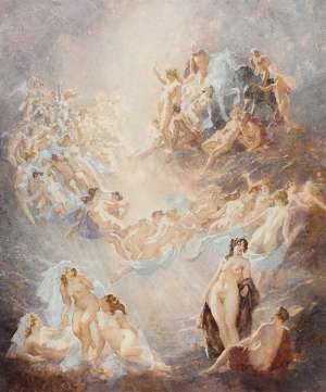 Hyperborean Idyll by NORMAN LINDSAY