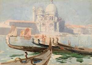 Santa Maria della Salute, Venice by ARTHUR STREETON