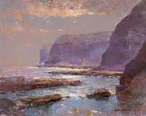 The Surge of the Sea, Avoca by RUBERY BENNETT