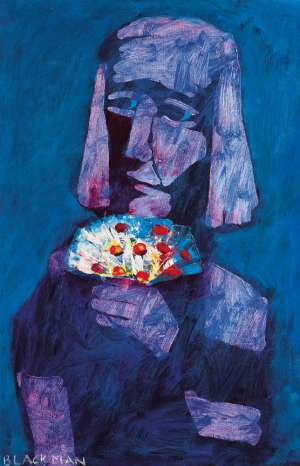 Hand of Flowers by CHARLES BLACKMAN