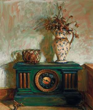 The Clock by MARGARET OLLEY