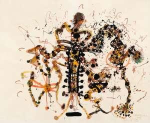 Improvisation on a Sound by JOHN OLSEN