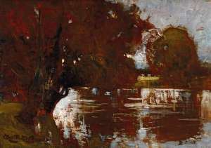 Dight's Falls, Melbourne by WALTER WITHERS