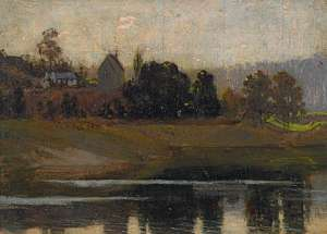 Sackville Reach by PERCY LINDSAY