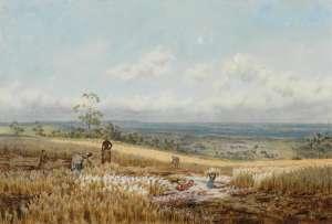 Harkaway Landscape by EMMA MINNIE BOYD