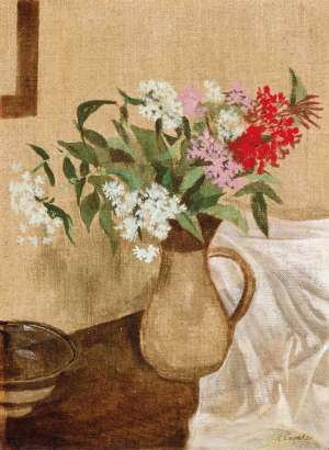 Australian Wildflowers in a Jug by RAY CROOKE