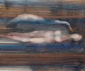 Untitled (Leda and the Swan) by SIDNEY NOLAN