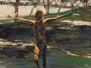 Bridget (Arms Outstretched), Nielsen Park by EUAN MACLEOD