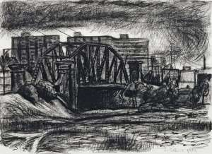 Bridge in the West by RICK AMOR
