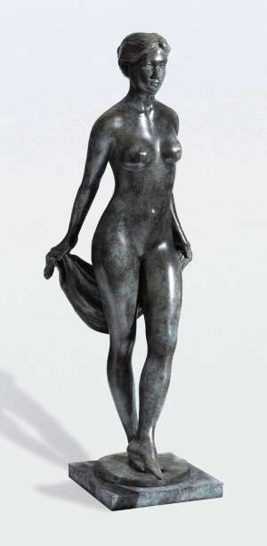 Stepping Bather by PHILLIP PIPERIDES