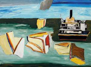 Faces and Boatshape by KEN WHISSON