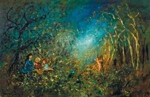 Children and Angel of Innocence by DAVID BOYD